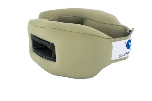 Sleep-Travel-Pillow-15-Black-Armygreen