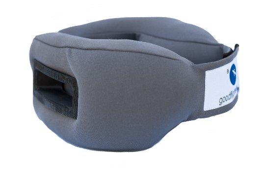 Sleep-Travel-Pillow-Black-Grey