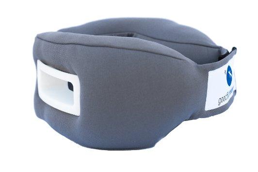 Sleep-Travel-Pillow-White-Grey