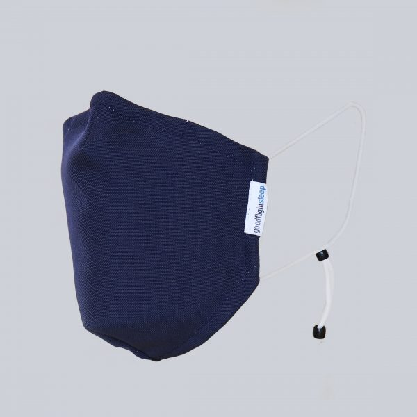 Mask Navy Headless Square