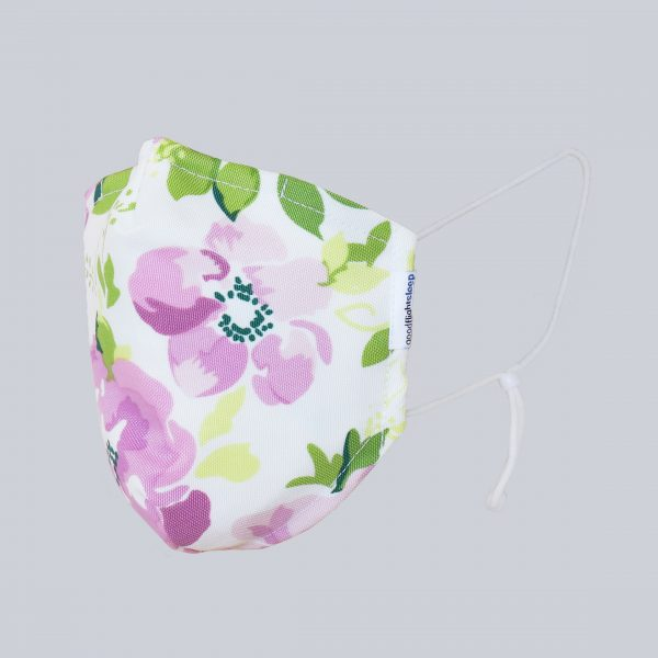 Mask Floral Headless Square