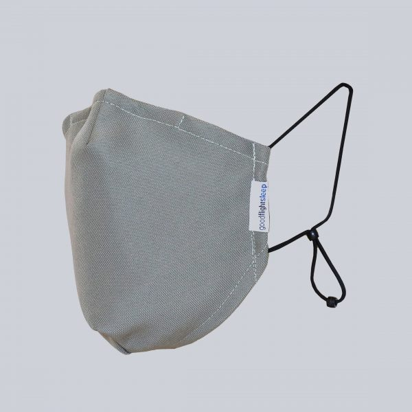 Mask Grey Headless Square